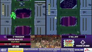 Mega Man X3 by Nu_ and Trogdor in 41:27 - SGDQ2017 - Part 76