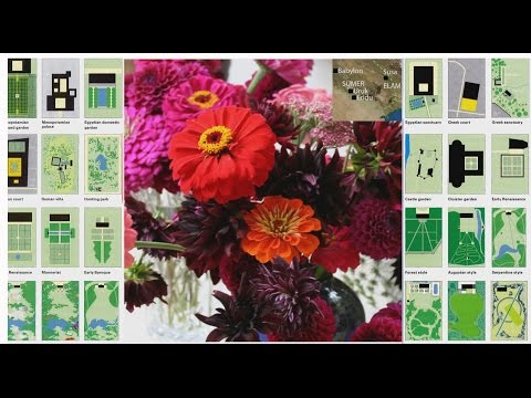 Garden History in Ten Minutes: West Asia, Europe, America
