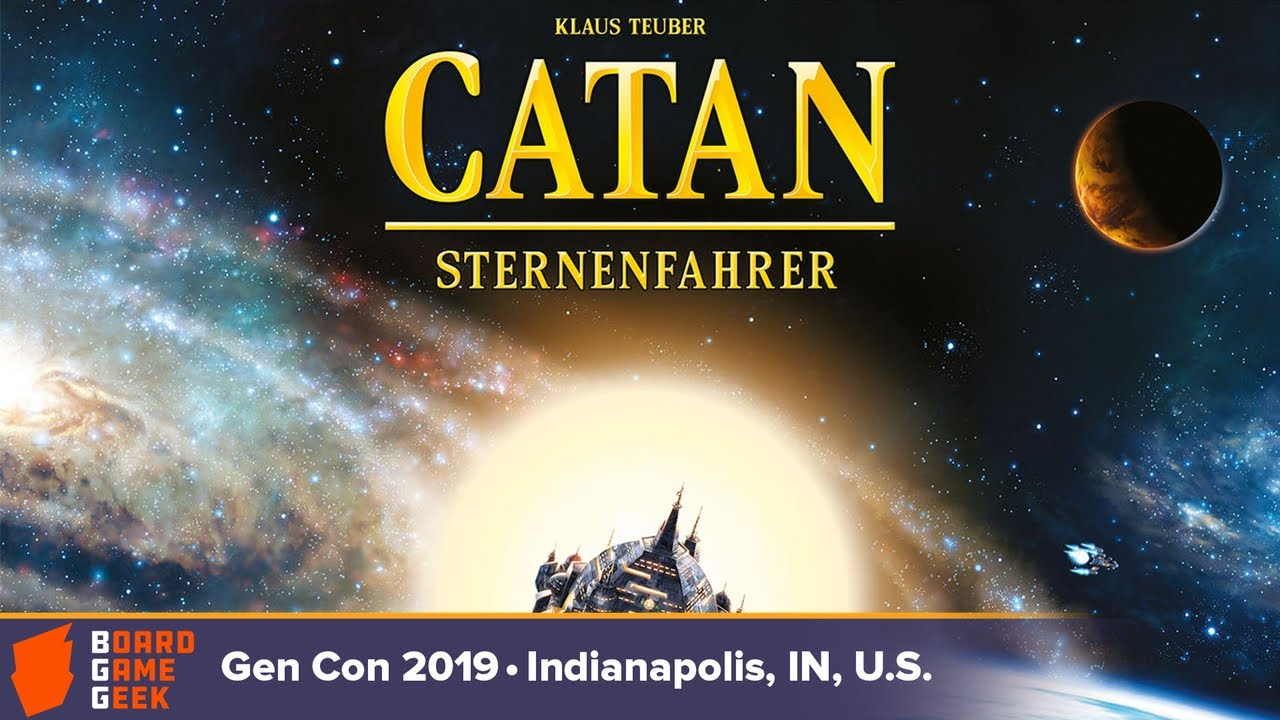 Download Catan: Starfarers — game overview at Gen Con 2019