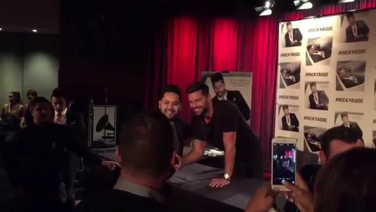ricky martin meet and greet sydney