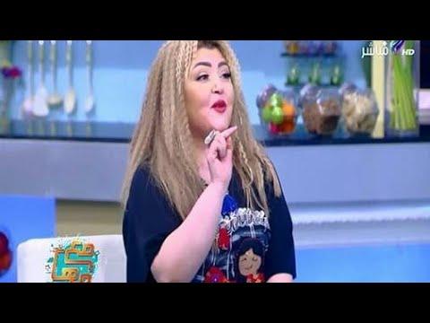 شاهد.. الفنانة مها أحمد تتلقى مفاجأة من زوجها مجدى كامل على الهواء