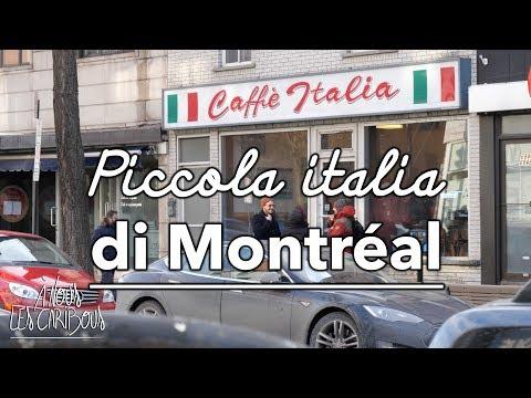 MONTRÉAL : À La Découverte De La PETITE ITALIE Et Du MILE END