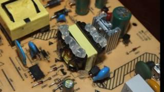 Elektr ta'minoti ta'mirlash, Philips bo'ron so'ng 42pfl3605H/12.