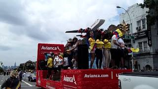 Colombian Independence Day Parade~2013~Queens~Avianca Float~NYCParadelife