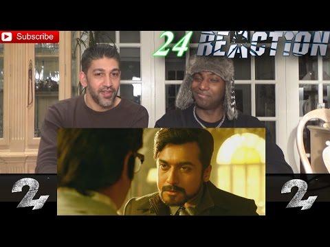 24 Official Teaser Tamil | Suriya, Samantha Ruth Prabhu, Nithya Menen - REACTION!