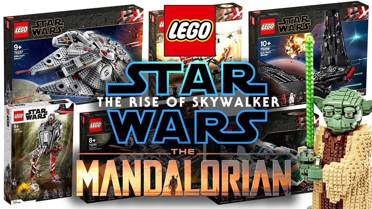 Lego Star Wars Rise Of Skywalker Mandalorian Set Pictures Triple Force Friday 2019 Youtube