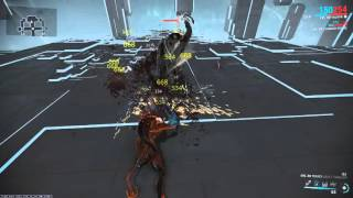 Warframe - Tekko (Gaia's Tragedy) + Fury + Berserker + Warcry(217% str)