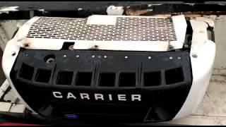 Холодильная установка Carrier Supra 750, пуск, обзор ХОУ 4