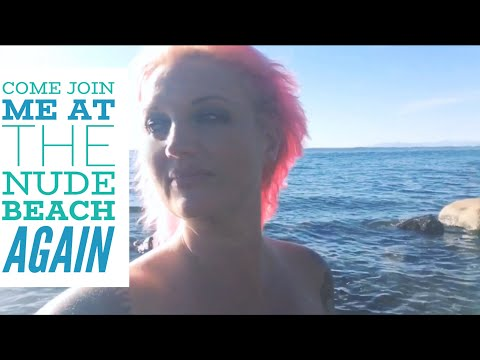 Come Join Me at the Nude Beach Again   and CONTEST Announcement - Enter in This Video! thumbnail