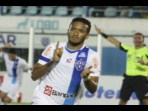 Gol de Jhonnatan, Paysandu 1 x 0 Avaí - Série B 14/06/2016