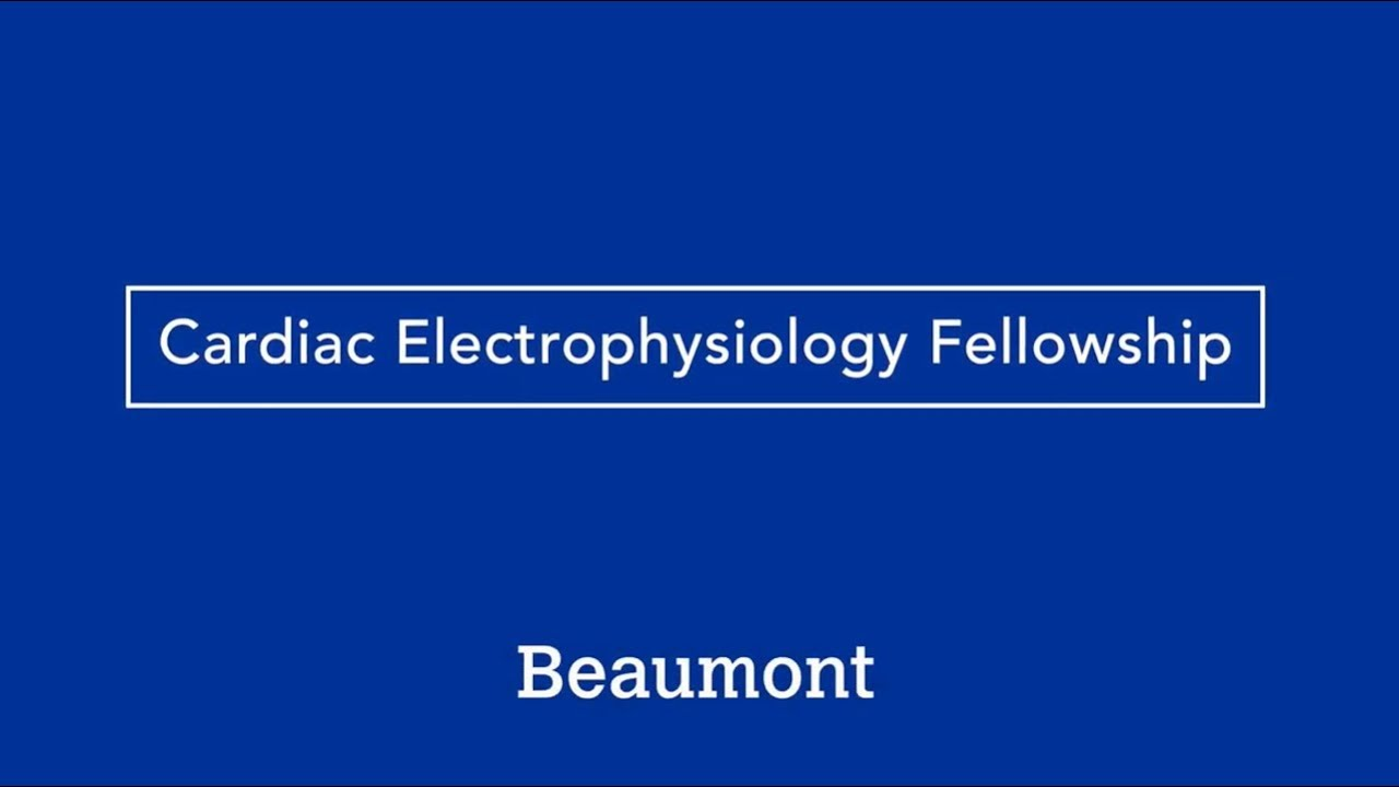 Clinical Cardiac Electrophysiology Fellowship, Royal Oak