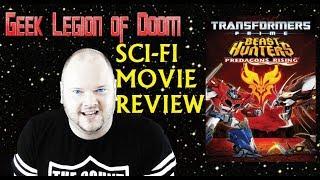 TRANSFORMERS PRIME - BEAST HUNTERS : PREDACONS  RISING ( 2013 ) Sci-Fi Movie Review