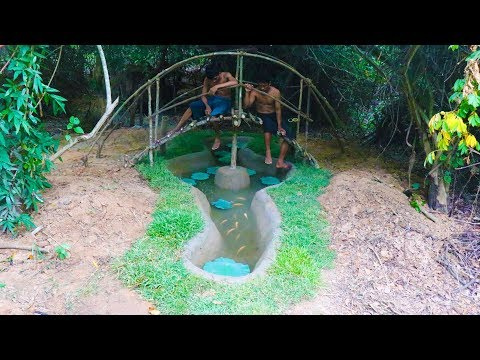 Building Fish Pond