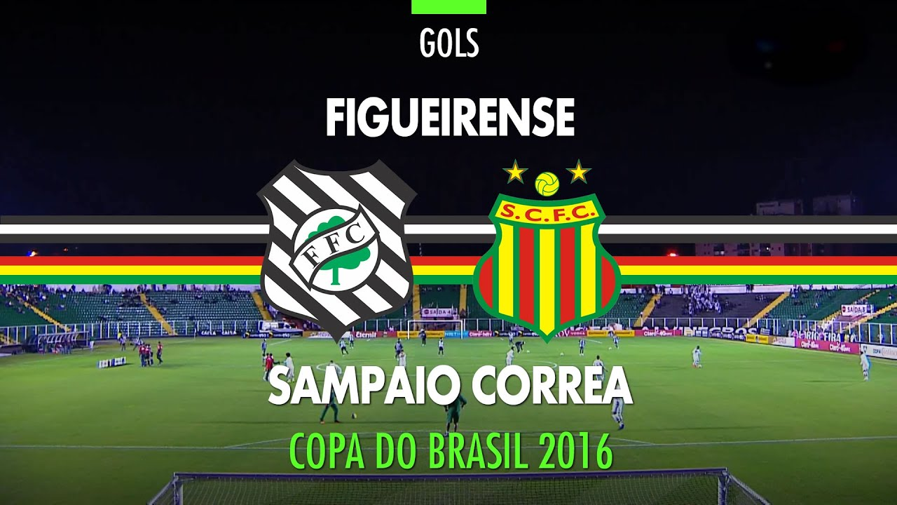 Gol Figueirense 1 X 0 Sampaio Correa Copa Do Brasil 06 07 2016 Youtube