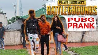 PUBG Prank in India | PUBG in Real Life | ANBTEAM