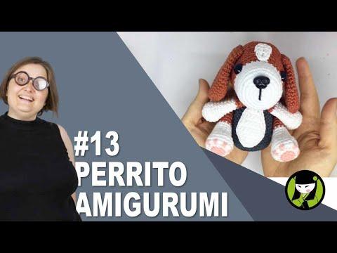 PERRITO AMIGURUMI 13 tutorial paso a paso
