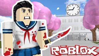 Roblox Roleplay - Yandere Simulator - MURDER RAMPAGE!!