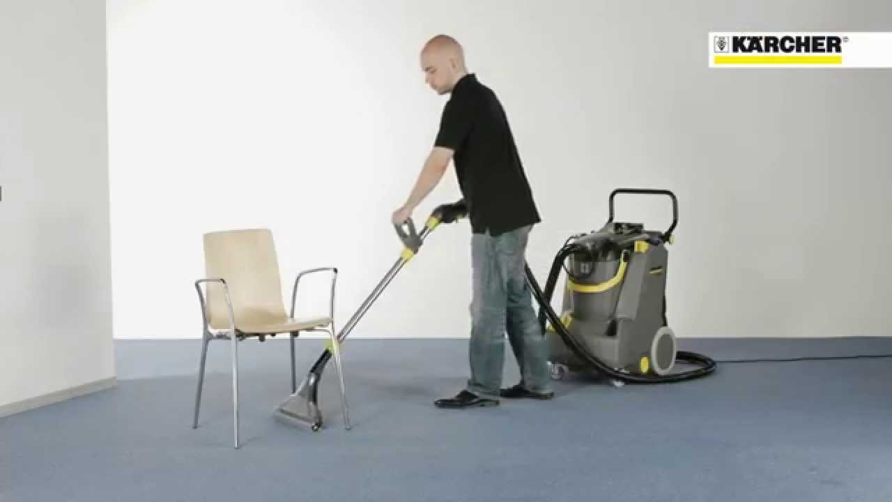 Karcher Puzzi 30 4 Professional Carpet Cleaner YouTube