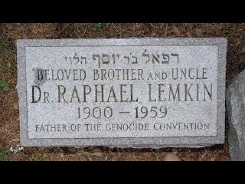 Raphael Lemkin on the Genesis of the Concept Behind the Word Genocide