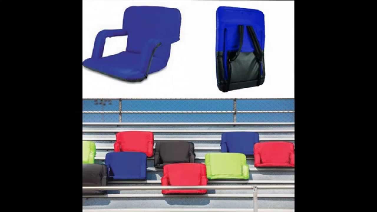 portable bleacher seat cushion stadium chair seat YouTube – Chair for Bleachers