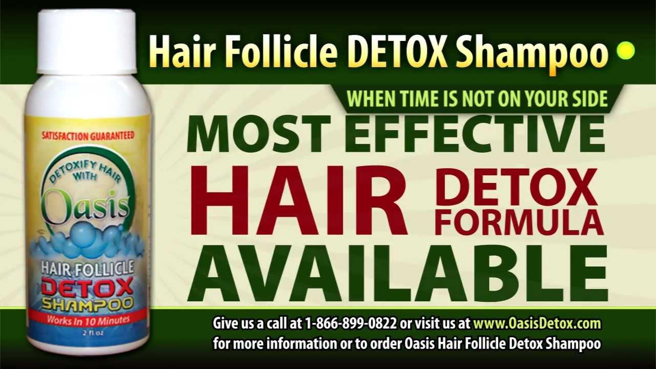 HAIR DETOX SHAMPOO DRUG TEST DETOXIFICATION KIT - YouTube