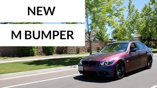 NEW M BUMPER!!! (HOWTO)