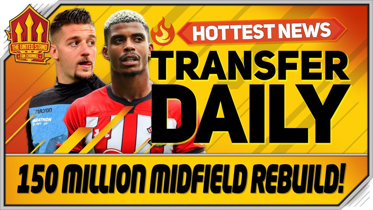 Solskjaer's 150 Million Midfield Swoop? Man Utd Transfer News