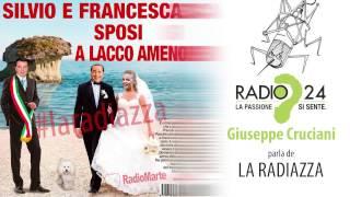 CRUCIANI  a LA ZANZARA parla de LA RADIAZZA. Silvio e Francesca sposi ad Ischia?