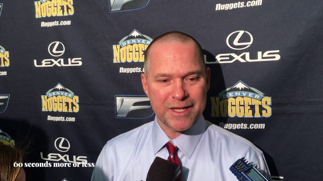 Michael Malone (Denver Nuggets) - YouTube 4182282784d