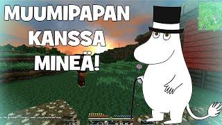 Minecraftia Muumipapan kanssa! #1