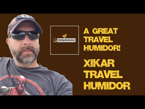 MrCigarEnthusiast Reviews The XIKAR 'Executive' Travel Humidor
