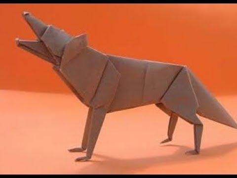 Origami Wolf Youtube