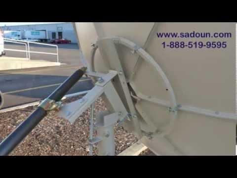 Sadoun 180CM 6ft C KU Band Prime Focus Dish