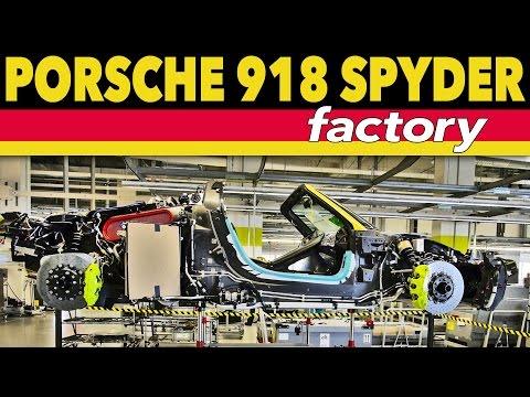 ► Porsche 918 Spyder Factory