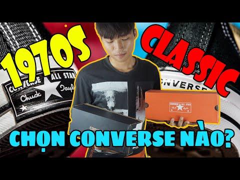 So Sánh Converse Chuck 70s vs Converse Classic   Mỗi Đôi Một Vẻ