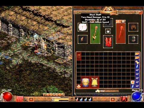 v6 00] Le Royaume des Ombres – Well-made huge MOD for Diablo