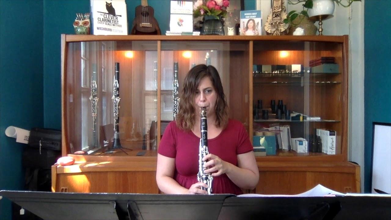 Kovacs, Hommage a Manuel De Falla - Larkin Sanders, clarinet