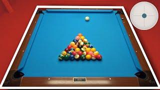 Square Pool Table !!! 36 Balls Rack