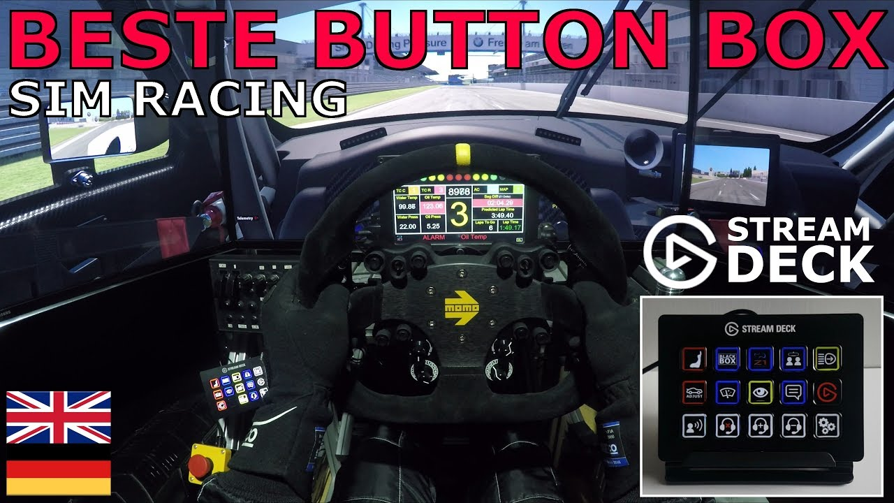 Beste Sim Racing Button Box - Elgato Stream Deck [REVIEW] [GER & ENG]