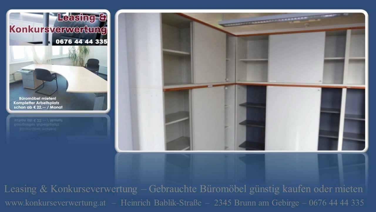 Gebrauchte Büromöbel mieten Wien - Arbeitsplatz mieten - Büromöbel ...