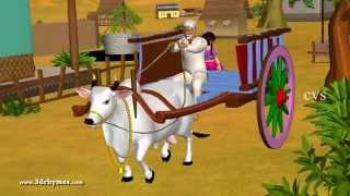 Learn Telugu Vahanamulu - Vehicles - Telugu 3D Animation Nursery rhymes for children