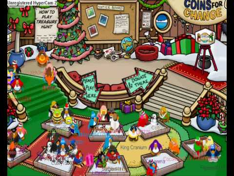 Clubpenguin furniture  catalog secrets December 09