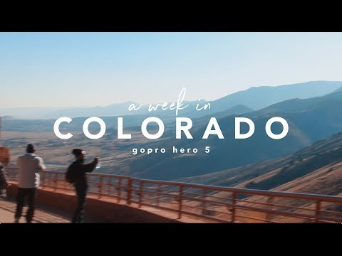 A Week in Colorado + GoPro Hero 5 // Denver, Boulder, & Breckenridge