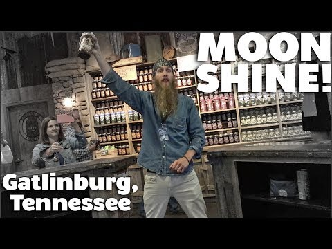 Moonshine Tasting | Gatlinburg Weekend Part 1