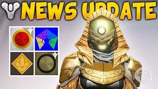 Destiny: APRIL UPDATE NEWS! New Trials Gear, Dreadfang Sword, Stolen Will Taken Shotgun (Spring DLC)