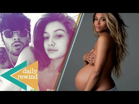 Zayn and Gigi Hadid Get NAKED in Instagram Story, and Ciara Pulls a Beyonce with Pregnancy Photo -DR