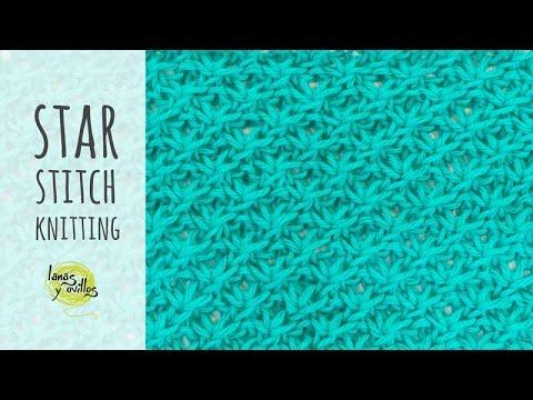 ad143beaf09b Tutorial Knitting Star Stitch - YouTube