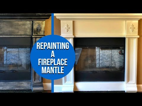 how-to-repaint-a-fireplace-mantel---diy-project-and-special-message