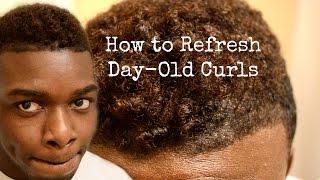 GRWM How to Refresh Day Old Curls DIY Men 39 s Style dyrandoms