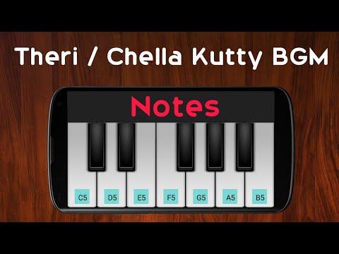 Chella Kutty BGM   Theri   G.V.Prakash   Perfect Piano 🎹